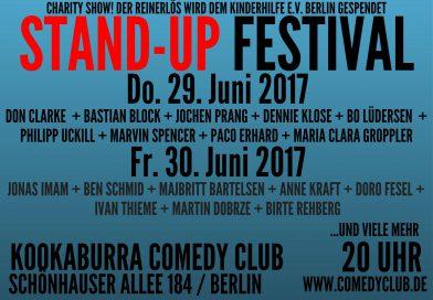 STAND-UP FESTIVAL BERLIN @29.-30. JUNI