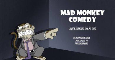 MAD MONKEY COMEDY