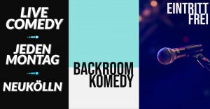 Backroom Komedy @ Deriva