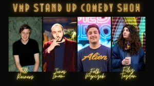 Verprügelt mit Punchlines - Stand-up Comedy Show @ Ma's Comedy Club