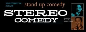 Stereo Comedy @ Süss. War Gestern
